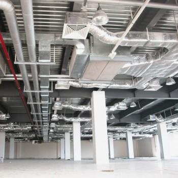 Hệ thống ống gió lạnh công trình